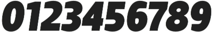 TT Teds ExtraBold Italic otf (700) Font OTHER CHARS