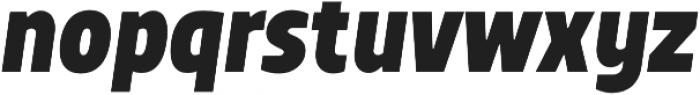 TT Teds ExtraBold Italic otf (700) Font LOWERCASE