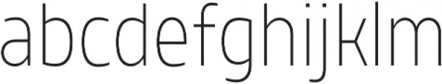 TT Teds ExtraLight otf (200) Font LOWERCASE