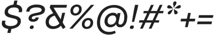 TT Travels Medium Italic otf (500) Font OTHER CHARS