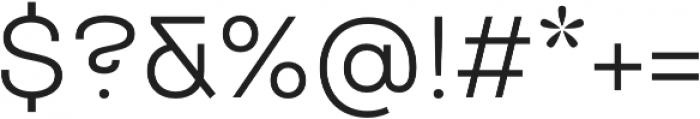 TT Travels otf (400) Font OTHER CHARS
