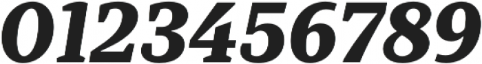 TT Tricks ExtraBold Italic otf (700) Font OTHER CHARS