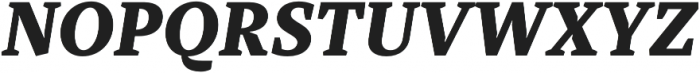 TT Tricks ExtraBold Italic otf (700) Font UPPERCASE
