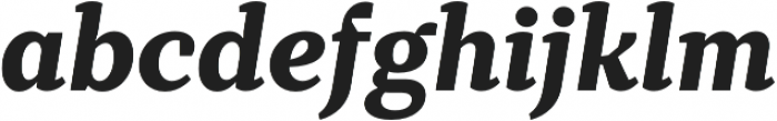 TT Tricks ExtraBold Italic otf (700) Font LOWERCASE