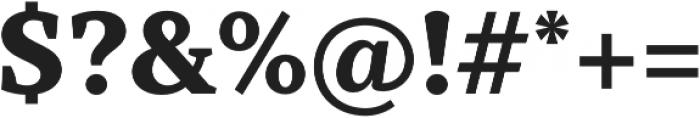 TT Tricks ExtraBold otf (700) Font OTHER CHARS