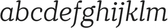 TT Tricks Light Italic otf (300) Font LOWERCASE