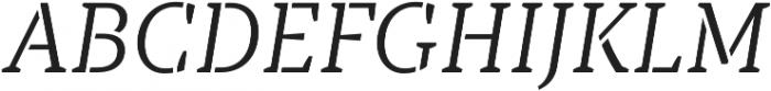 TT Tricks Stencil Light Italic otf (300) Font UPPERCASE