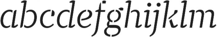TT Tricks Stencil Light Italic otf (300) Font LOWERCASE
