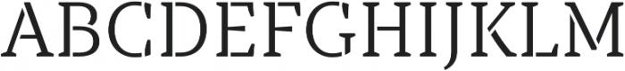 TT Tricks Stencil Light otf (300) Font UPPERCASE