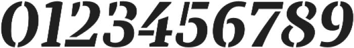 TT Tricks Stencil otf (700) Font OTHER CHARS