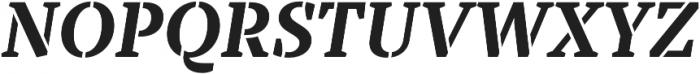 TT Tricks Stencil otf (700) Font UPPERCASE