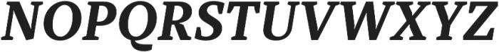 TT Tricks otf (700) Font UPPERCASE
