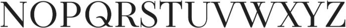 TT Tsars C otf (400) Font UPPERCASE
