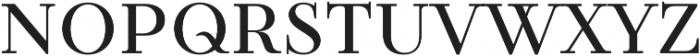 TT Tsars C otf (400) Font LOWERCASE