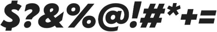 TT Wellingtons Black Italic otf (900) Font OTHER CHARS