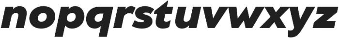 TT Wellingtons Black Italic otf (900) Font LOWERCASE