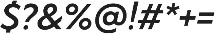 TT Wellingtons DemiBold Italic otf (600) Font OTHER CHARS