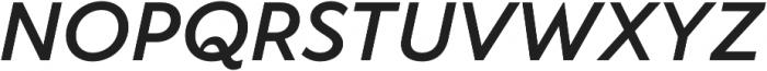 TT Wellingtons DemiBold Italic otf (600) Font UPPERCASE