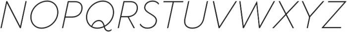 TT Wellingtons ExtraLight Italic otf (200) Font UPPERCASE
