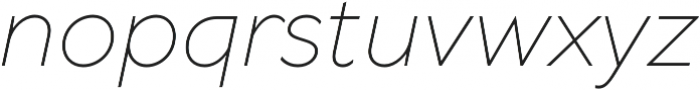 TT Wellingtons ExtraLight Italic otf (200) Font LOWERCASE