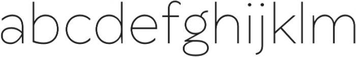 TT Wellingtons ExtraLight otf (200) Font LOWERCASE
