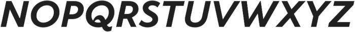 TT Wellingtons otf (700) Font UPPERCASE