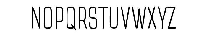 TTCottonsLight-DEMO Font UPPERCASE