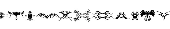 TTF_TATTOEF Font UPPERCASE