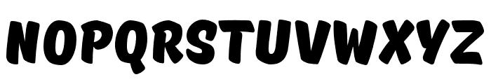 TTMastersDEMOBlack Font UPPERCASE