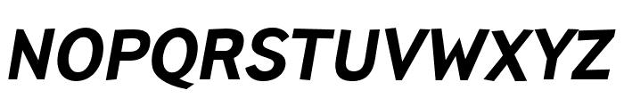 TTPinesDEMO-BoldItalic Font UPPERCASE