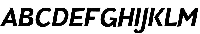 TTPinesDEMO-BoldItalic Font LOWERCASE