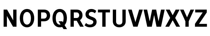 TTProstoSansCondensedDEMO-Bold Font LOWERCASE