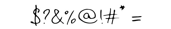 TTRabbitsElfDEMO Font OTHER CHARS