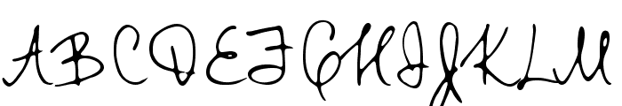 TTRabbitsElfDEMO Font UPPERCASE