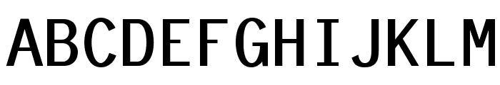 Tt-Kp-Medium Font UPPERCASE