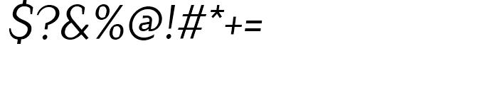 TT Crimsons Italic Font OTHER CHARS