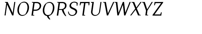 TT Crimsons Italic Font UPPERCASE