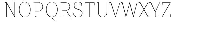 TT Crimsons Thin Font UPPERCASE