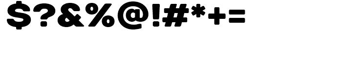 TT Days Sans Black Font OTHER CHARS
