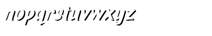 TT Marks Shadow ExtraBold Font LOWERCASE
