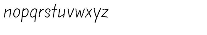 TT Masters Rough Light Font LOWERCASE