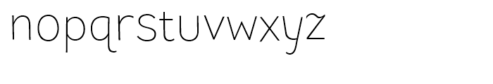 TT Pines Light Font LOWERCASE