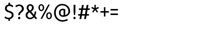 TT Prosto Sans Condensed Regular Font OTHER CHARS