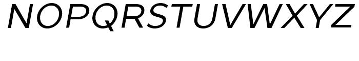 TT Prosto Sans Italic Font UPPERCASE