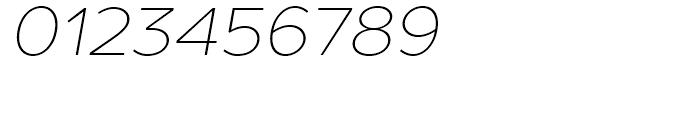 TT Prosto Sans Thin Italic Font OTHER CHARS