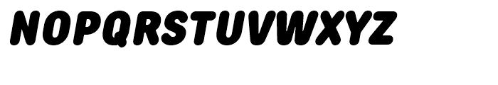 TT Rounds Condensed Black Italic Font UPPERCASE