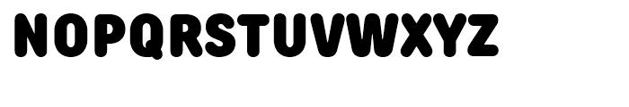 TT Rounds Condensed Black Font UPPERCASE