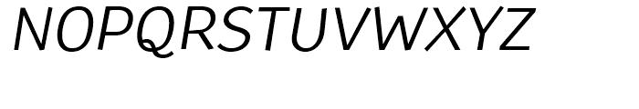 TT Souses Italic Font UPPERCASE