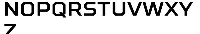 TT Squares Bold Font UPPERCASE