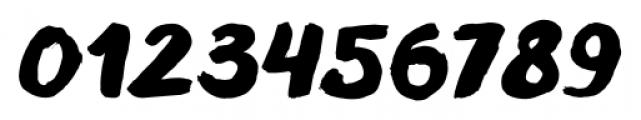 TT Blushes Black Italic Font OTHER CHARS